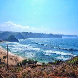 Hill View by Aris Setiarso - Landscapes Beaches ( #beach )