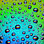 My Firsth Bubble by Teguh Gogo - Abstract Water Drops & Splashes
