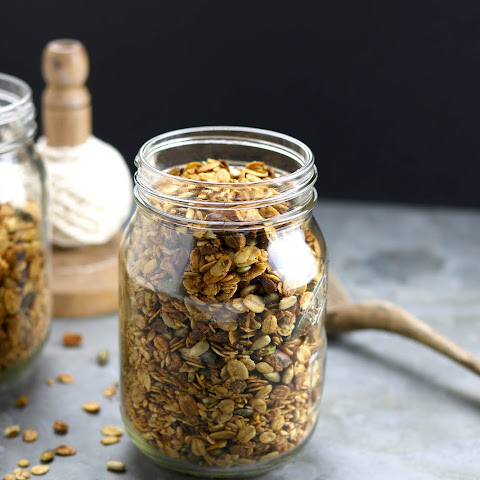 Pistachio and Seed Granola