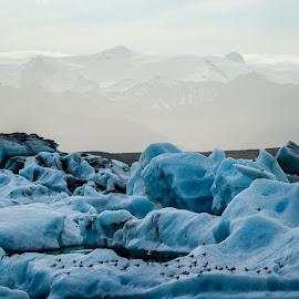 Glacier Bay Iceland by Philip Rugel - Landscapes Waterscapes
