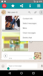 WhatScan App Messenger Screenshot