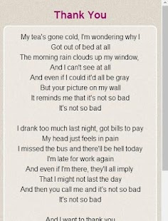 Dido Lyrics - screenshot