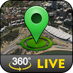 Street Live Map View Icon