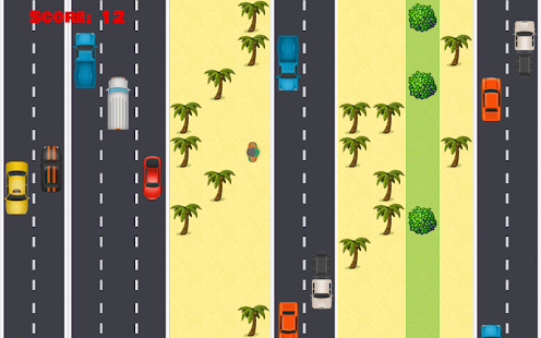 Across Road - screenshot