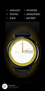 Facer Bling watch face by Wutr - screenshot