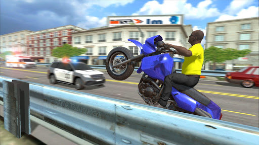 City Traffic Moto Racing For PC