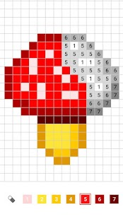 InDraw: Color by Number,Pixel Art,Sandbox Coloring