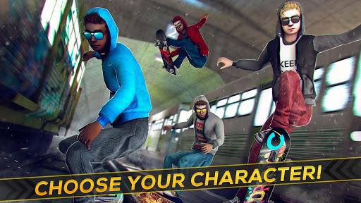 Subway Skateboard Ride Tricks - Extreme Skating screenshot 9