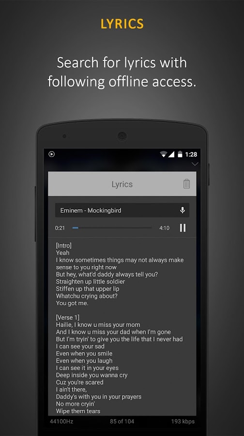 Stellio Music Player Screenshot 3