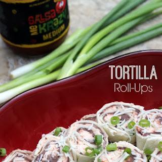 Tortilla Roll Ups Refried Beans Cream Cheese Recipes