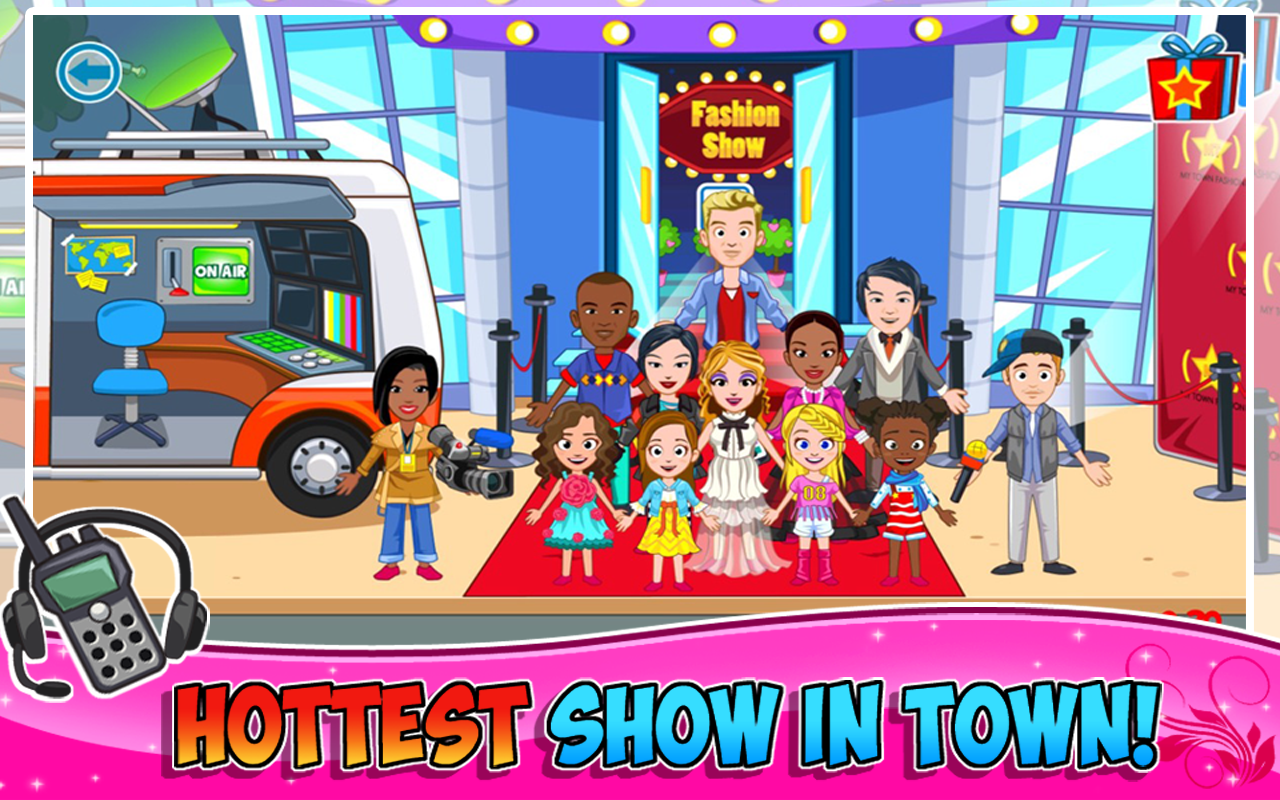 My Town : Fashion Show Screenshot 1