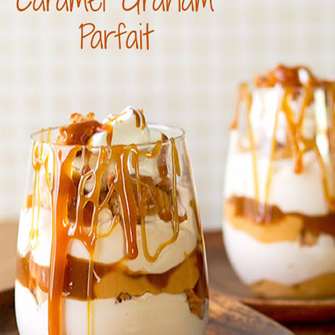 Caramel Graham Cracker Parfait