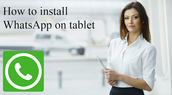 APK App Guide WhatsApp on tablet for BB, BlackBerry