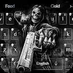 Death skull Gun Theme Keyboard Icon