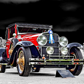 1928 Cadillac LaSalle 303 by JEFFREY LORBER - Transportation Automobiles ( rust 'n chrome, vintage car, ;lasalle, cadillac, old car, lorberphoto )