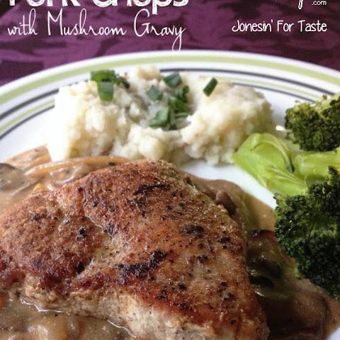 Pan-fried Pork Chops With Creamy Gravy Recipes — Dishmaps