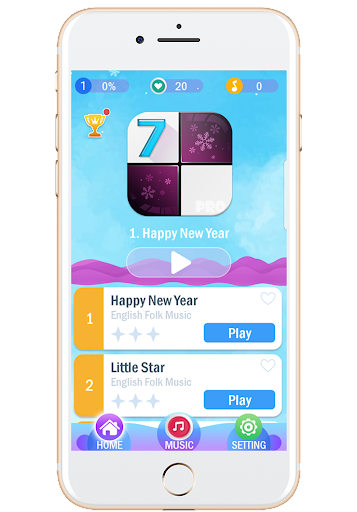 Piano Tiles 7 For PC
