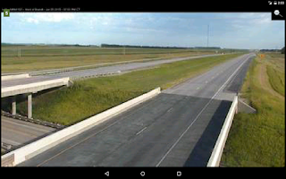 Screenshot of Cameras South Dakota Traffic