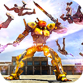 APK Game Futuristic Robots War Hero 3D for iOS