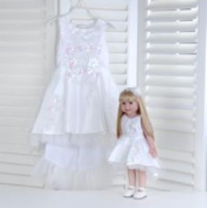 """Кукла серии """"Город Игр"""" 45 см с платьем, белый M"""
