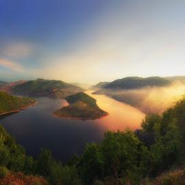 morning by Валентин Найденов - Landscapes Mountains & Hills ( кърджали, фб, пленер, завои, залез, изгрев, язовир, фотопленер, родопи, fb )