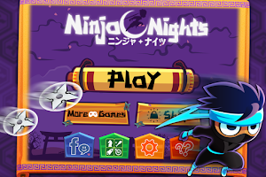 Screenshot of Ninja Nights - Endless Runner