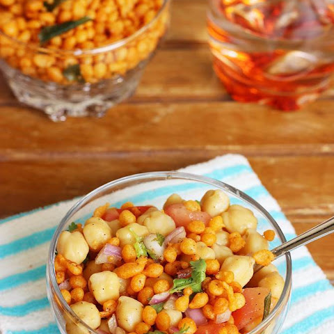 Chana Chaat Recipe (chole Chat) – Chickpeas Salad
