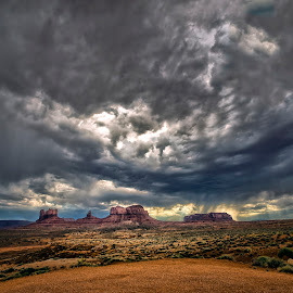 Monument Valley by Stanley P. - Landscapes Weather ( weather, landscape )
