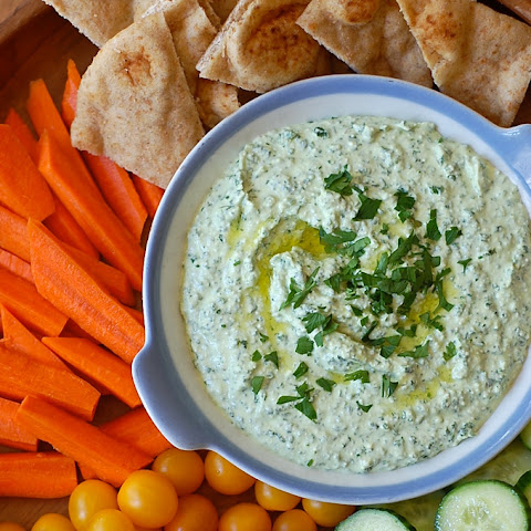 Feta and Kale Dip