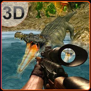 3D Angry Crocodile Hunter Sim Hacks and cheats