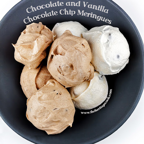 Chocolate and Vanilla Meringues with a Surprise Inside (Gluten-Free)