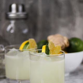 Lemon Lime Ginger Margaritas