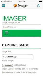 SPD Imager - Documentum Mobile - screenshot