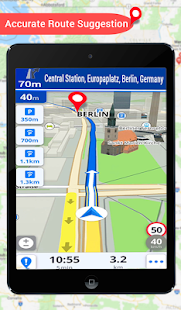 GPS Live Earth Maps Navigation Direction Guide