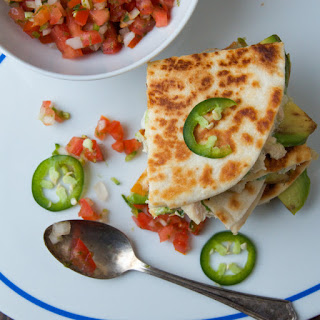 Tuna Melt Quesadillas