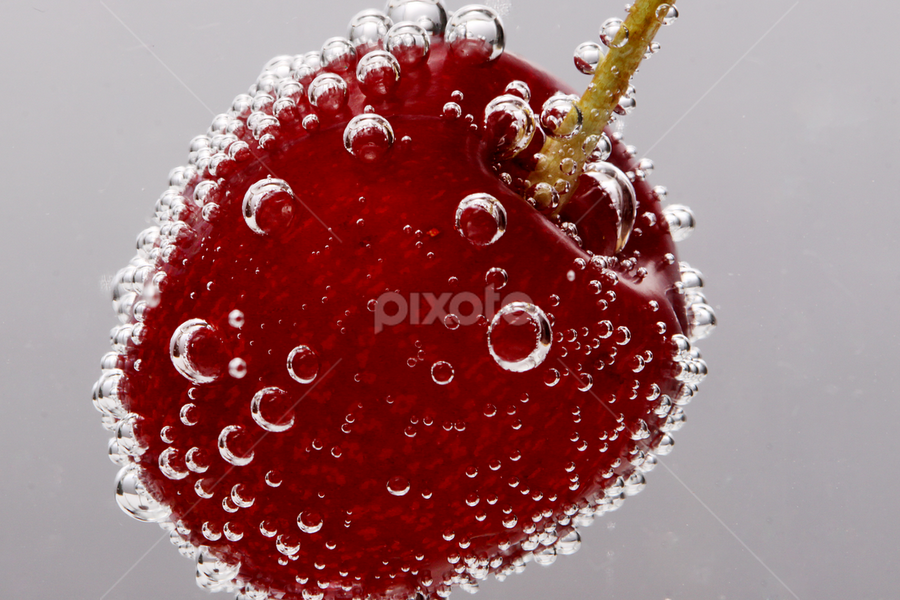 Sparkling Cherry by Jong Onilcny - Food & Drink Fruits & Vegetables
