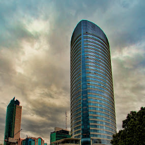 appartaments building by Cristobal Garciaferro Rubio - Buildings & Architecture Office Buildings & Hotels ( clouds, mexico city, reforma street, buildings, appartaments )