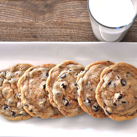 Chewy Chocolate Chip Toffee Cookies