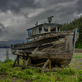 3 hour tour by Deb Dicker - Transportation Boats ( deb dicker, alaska, transportation, nikon, boat, usa )