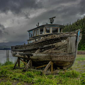 3 hour tour by Deb Dicker - Transportation Boats ( deb dicker, alaska, transportation, nikon, boat, usa,  )