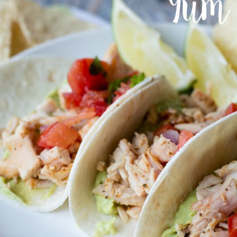 Chicken Street Tacos with Avocado Mousse