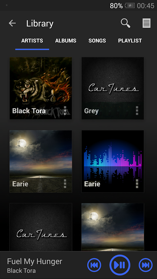 Car Tunes Music Player Pro Screenshot 2