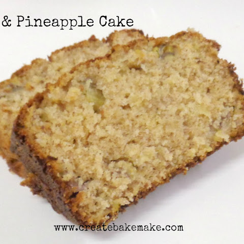 Banana and Pineapple Cake