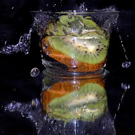kiwi in glass by LADOCKi Elvira - Food & Drink Fruits & Vegetables ( fruits )