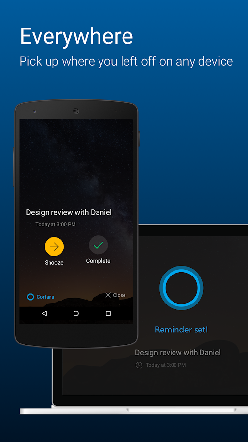 Cortana Screenshot 3