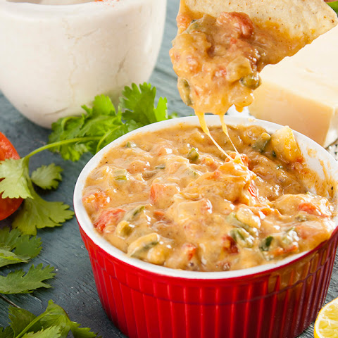 Skinny Queso Cheese Dip