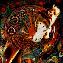 Kiras by Veli Gaytcheva Sander - Illustration Abstract & Patterns ( abstrakt, digital )