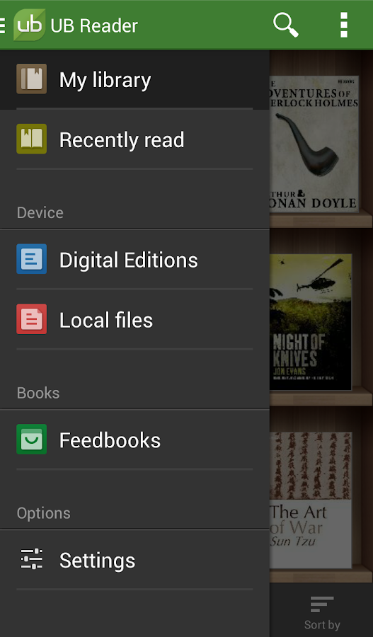 Universal Book Reader Screenshot 1