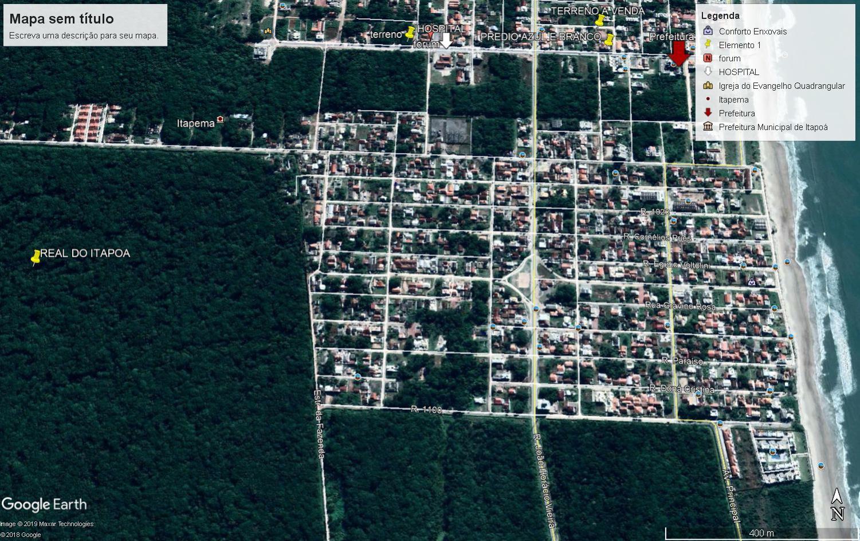 Terreno à venda, 454 m² por R$ 20.000 - Balneário Real do Itapoá - Itapoá/SC