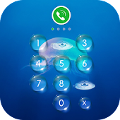 AppLock Theme - Jellyfish